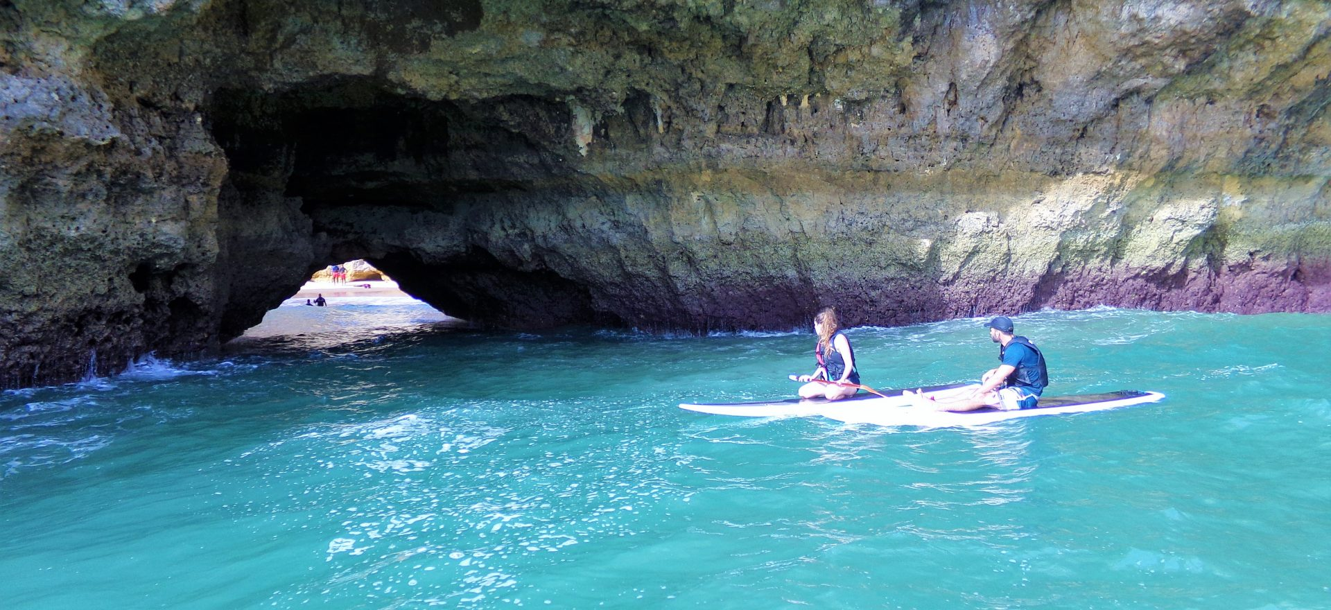 algarve standup paddle caves vilamoura