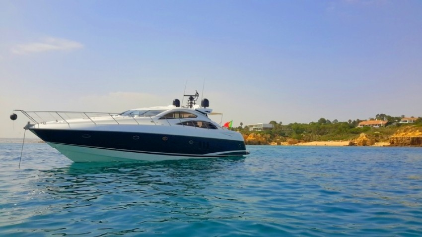 vilamoura luxury yacht charter sunseeker 72 feet
